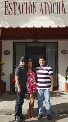 Con Alejandro Gutiérrez.