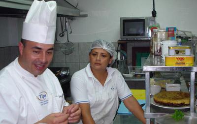 El reconocido chef chileno Alonso Barraza también ha impartido cursos.