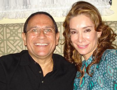 Jorge Garro y Ana María Villeda.