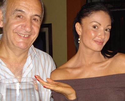 Martín Aldaburu y Marilín Gamboa.