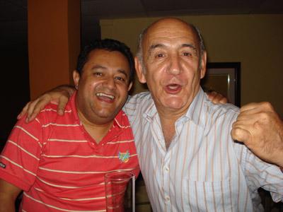 Luis Murillo y el juez Martín Aldaburu.