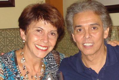 Doris Goldgewicht y Jairo.