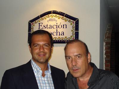 Camilo Rodríguez y René Picado.