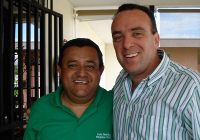 Luis Murillo y Ricardo Taylor.