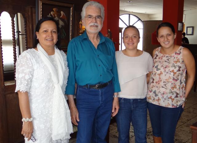 Nos visitó Carlos Poveda