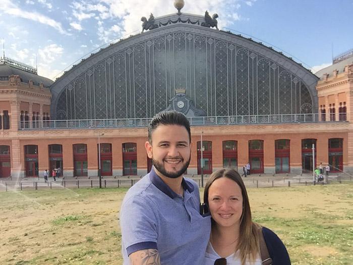 Una visita a Estación Atocha