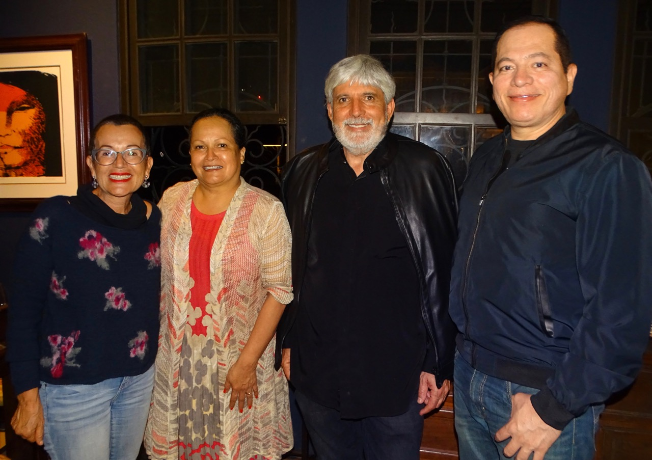 Con Jiménez Deredia en Don Bosco