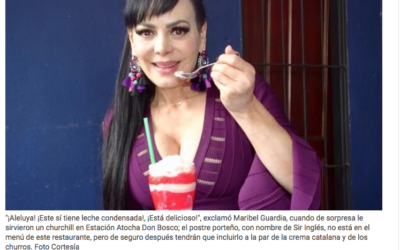 Los granizados de Maribel Guardia